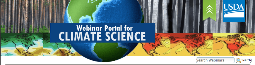 """Screen capture from Webinar Portal Climate Science"""